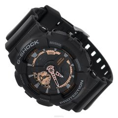 "���� ������� �������� Casio ""G-Shock"", ����: ������. GA-110RG-1A"