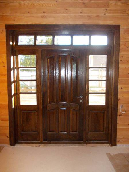 Межкомнатные двери из дерева с патиной — купить по