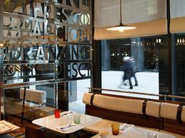 Ресторан Osteria della Piazza Bianca. Москва Лесная, 5а, БЦ «Белая площадь»