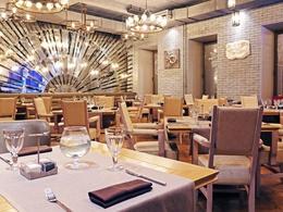 Ресторан Мясо & Рыба. Москва Тверская, 23, вход из Мамоновского переулка