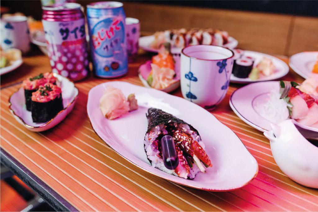 Русалочка-суши