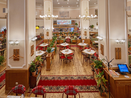 Кафе Вареничная № 1. Москва Комсомольская площадь, 2а, Казанский вокзал