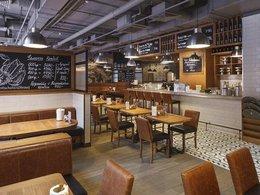 Ресторан Boston seafood & bar (Павелецкая). Москва Летниковская ул., 2с3, БЦ Vivaldi Plaza